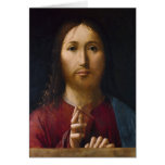Blessing of Christ Greeting Card