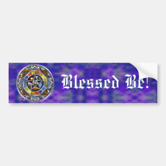 Blessing of Elements Bumper Sticker