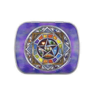 Blessing of Elements Candy Tins