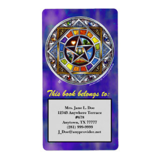 Blessing of Elements Identifier Label