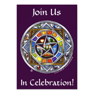Blessing of Elements Invitation