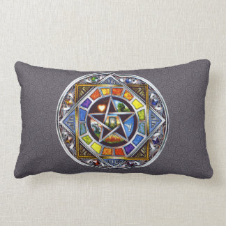 Blessing of Elements Lumbar Pillow