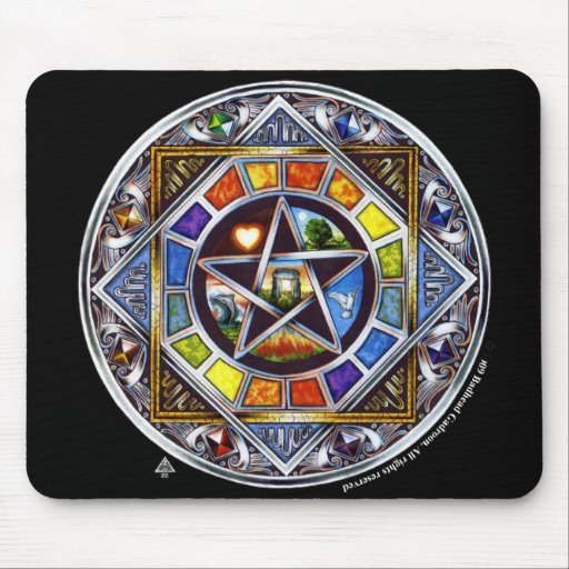 Blessing of Elements Mousepad