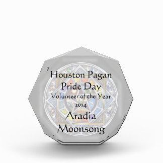 Blessing of Elements Octagonal Award