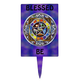 Blessing of Elements Rectangle Cake Pick