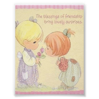 Blessing of Friendship Photo Enlargement
