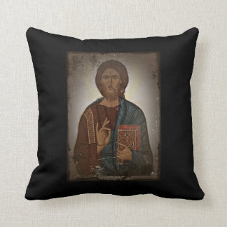 Blessing of Jesus Throw Pillow