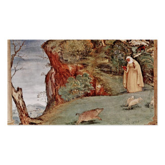 Blessing of Saint Brigid of Kildare Double-Sided Standard Business Cards (Pack Of 100)