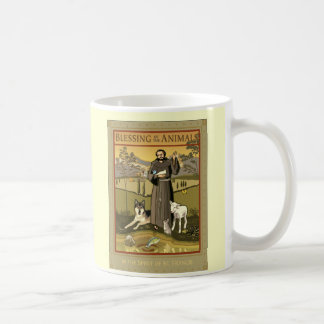 BLESSING OF THE ANIMALS POSTER COFFEE MUG