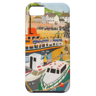 Blessing of the Lifeboat at Mousehole iPhone SE/5/5s Case