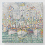 Blessing of the Tuna Fleet at Groix, 1923 Stone Beverage Coaster
