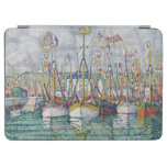 Blessing of the Tuna Fleet at Groix, 1923 iPad Air Cover