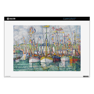 Blessing of the Tuna Fleet at Groix, 1923 Laptop Decals