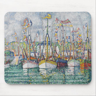 Blessing of the Tuna Fleet at Groix, 1923 Mouse Pad