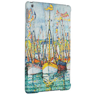 Blessing of The Tuna Fleet at Groix by Paul Signac Case For iPad Air
