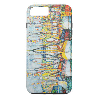 Blessing of The Tuna Fleet at Groix by Paul Signac iPhone 8 Plus/7 Plus Case