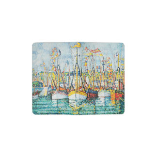 Blessing of The Tuna Fleet at Groix by Paul Signac Pocket Moleskine Notebook
