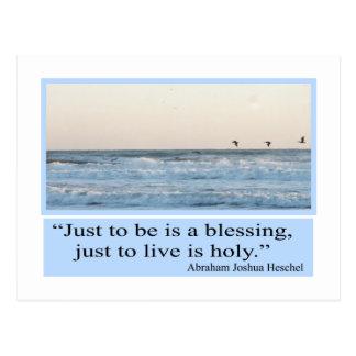 blessing postcard