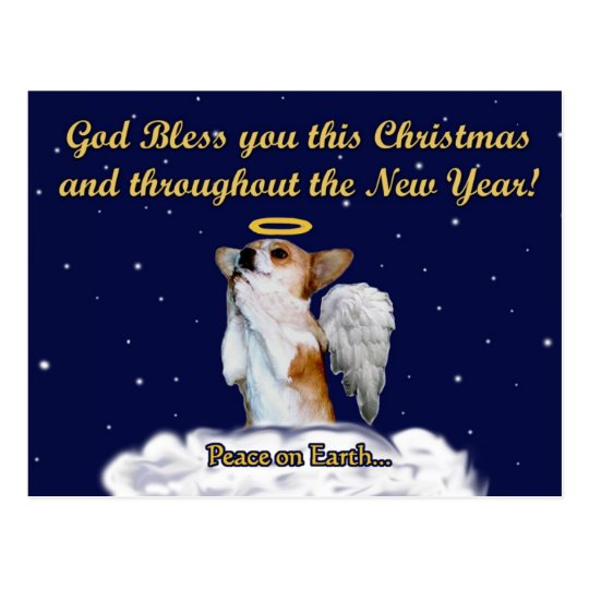 Christmas Blessing Prayer.Blessing Prayer Dott Angel Night Postcard