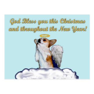 Blessing Prayer Dott Angel Postcard