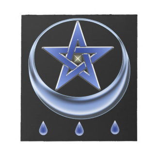 Blessing Symbol and pentagram Notepad