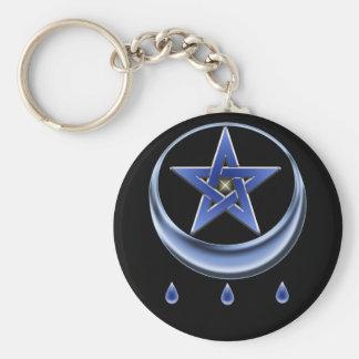 Blessing Symbol & Pentagram Keychain