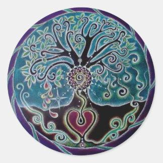 Blessing Tree of Life Mandala Sticker