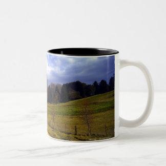 Blessing Two-Tone Coffee Mug