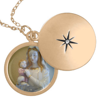 blessings all time round locket necklace