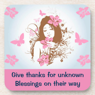 BLESSINGS coaster
