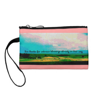 blessings coin purse