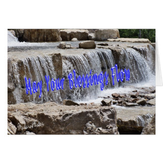 Blessings-customize for any occasion greeting card