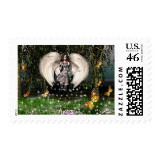 Blessings Everywhere Postage Stamp