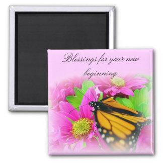 Blessings for your new beginning magnet