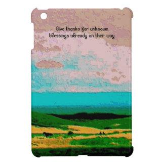 blessings iPad mini cover
