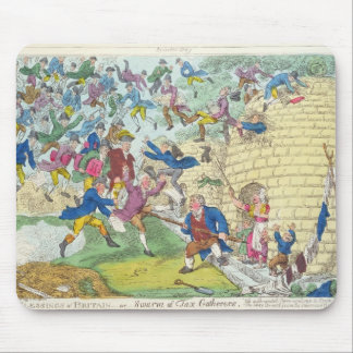 Blessings of Britain - or Swarm of Tax Mousepad