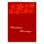 Blessings of Christmas Titus 3:4-7 Greeting Card