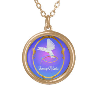 Blessings Of Easter Gold Plated Necklace