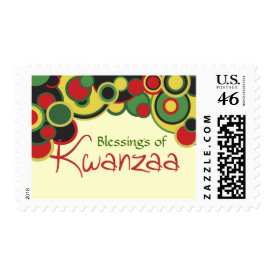 Blessings of Kwanzaa Postage stamp