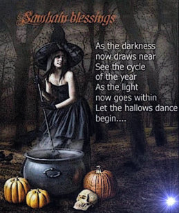 Samhain blessings gifts on zazzle blessings of samhain pagan greeting card m4hsunfo