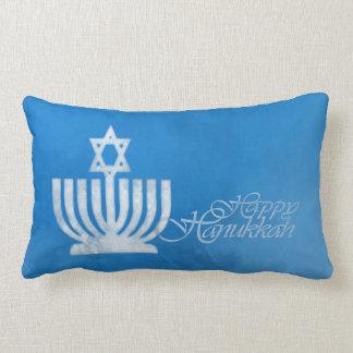 Blessings of the Menorah Lumbar Pillow