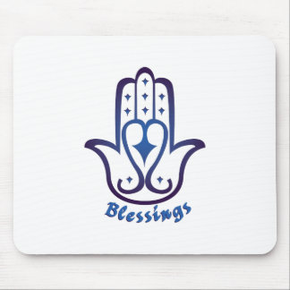 Blessings Palm Mouse Pad