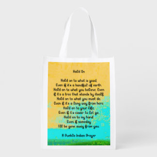 blessings reusable grocery bag
