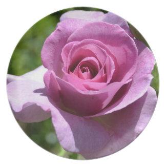 Blessings Rose Plate