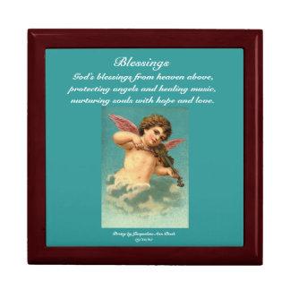 """Blessings"" Vintage Angel Gift Box"