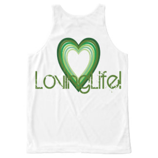 Blest LovingLife Tank Top All-Over Print Tank Top