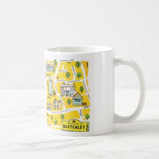 Bletchley (Milton Keynes0 illustration mug