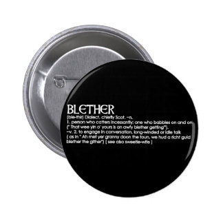 Blether Pinback Buttons
