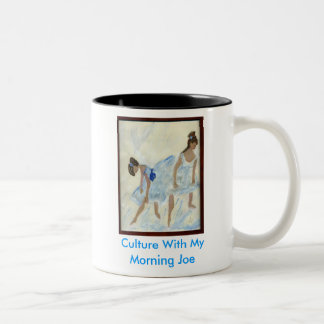 bleu ballet, Culture With My Morning Joe Two-Tone Coffee Mug
