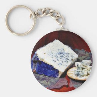Bleu Dauvergne Cheese Keychain
